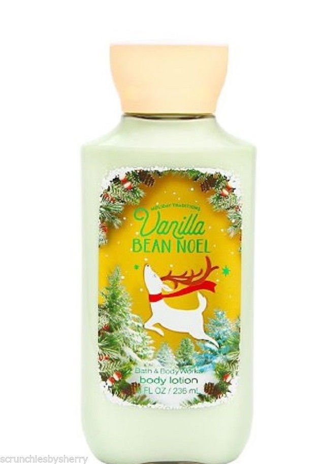 Bath & Body Works Body Lotion Vanilla Bean Noel 2015