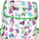 Disney Tinker Bell Backpack Green Glitter Tink Theme Parks New