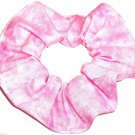 Pink Hair Scrunchie Blenders Fabric Scrunchies by Sherry