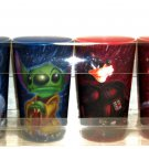 4 Disney Mickey Mouse Donald Duck Goofy Stitch Star Wars Cups Theme Parks