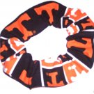 Tennessee Vols Patchwork Fabric Hair Ties Scrunchie Scrunchies by Sherry NCAA