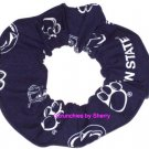 Penn State Nittany Lions Fabric Hair Scrunchie Scrunchies by Sherry NCAA
