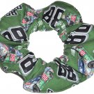 Dale Earnhardt Jr Cars #88 NASCAR Fabric Hair Scrunchie Scrunchies by Sherry