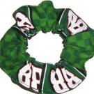 Dale Earnhardt Jr #88 NASCAR Flannel Fabric Hair Scrunchie Scrunchies by Sherry