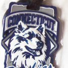 NCAA Colleg Team Luggage Tag UConn Huskies New