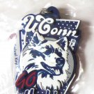 NCAA Colleg Team Key Ring Chain UConn Huskies New