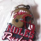NCAA Colleg Team Key Ring Chain Noles Rules Florida State Seminoles FSU New