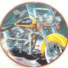 Harley Davidson The Iron Stinger Collector Plate Motorcycle Franklin Mint