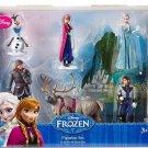 Disney Frozen Figure Set Elsa Anna Olaf Hans Kristoff Sevn 6 Piece Collectible