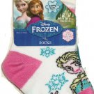 Disney Frozen Elsa White Socks Sock Size 5-6.5