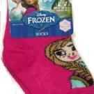 Disney Frozen Anna Pink Socks Sock Size 4-4.5