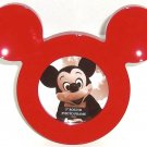 Disney Mickey Mouse Icon Head Red Photo Picture Frame Theme Parks