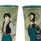 Disney Store Art of Jasmine and Aladdin Coffee Mug Set 2015 New