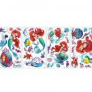 Disney Ariel Little Mermaid Wall Decals Bedroom Girls Decorations Flounder New