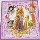 Disney Tangled Trading Pin Set Princess Rapunzel Flynn Rider Pascal Theme Parks