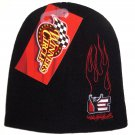 Dale Earnhardt Sr Black  Beanie Ski Hat Winner's Circle