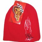 Dale Earnhardt Jr. Red Beanie SKI HAT Winner's Circle