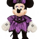 Disney Store Minnie Mouse Vampire Halloween Plush New 2015