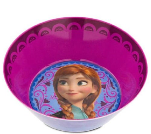 Disney Store Frozen Anna Cereal Bowl Meal Time Magic 2014 New