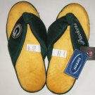 Forever Collectibles Women NFL Slippers Green Bay Packers Size Small New