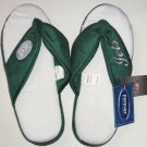 Forever Collectibles Women NFL Slippers New York Jets Size XL New