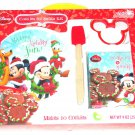 Disney Mickey Minnie Donald Pluto Plate Cookie Cutter Spatula Cookies for Santa