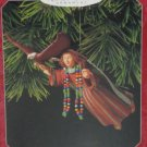 Hallmark Ornament Christmas Soaring with Angels Folk Art Americana 1998