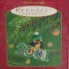 Hallmark Ornament Cool Decades Holiday 2001 Penguin
