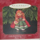 Hallmark Ornament Madame Alexander Little Red Riding Hood 1997 Christmas Holiday
