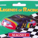 Jeff Gordon Car Magnet #24 Legends of Racing Dupont NASCAR Lot of 2
