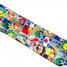Looney Tunes Bugs Tweety Bird Taz Daffy Duck Mens Neck Tie Necktie Rene Chagel