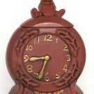 McCoy Time For Cookies Cookie Jar Brown Clock Mouse Vintage