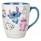 Disney Store Stitch and Angel Classic Mug 2018