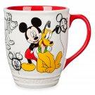 Disney Store Mickey and Pluto Classic Mug 2018
