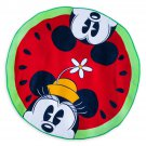 Disney Store Mickey and Minnie Mouse Watermelon Beach Towel Summer Fun 2018