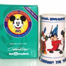 Walt Disney World Stein Mickey Through The Years 1st Disneyana Convention 1992