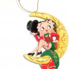 Betty Boop Moonlit Holiday Ornament Christmas Top Hat Outfit Danbury Mint 2007