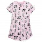 Disney Store Minnie Mouse Ladies Nightshirt Nightgown Light Pink Size XL/XXL