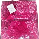 Vera Bradley Lunch Sack Laminated Stamped Paisley