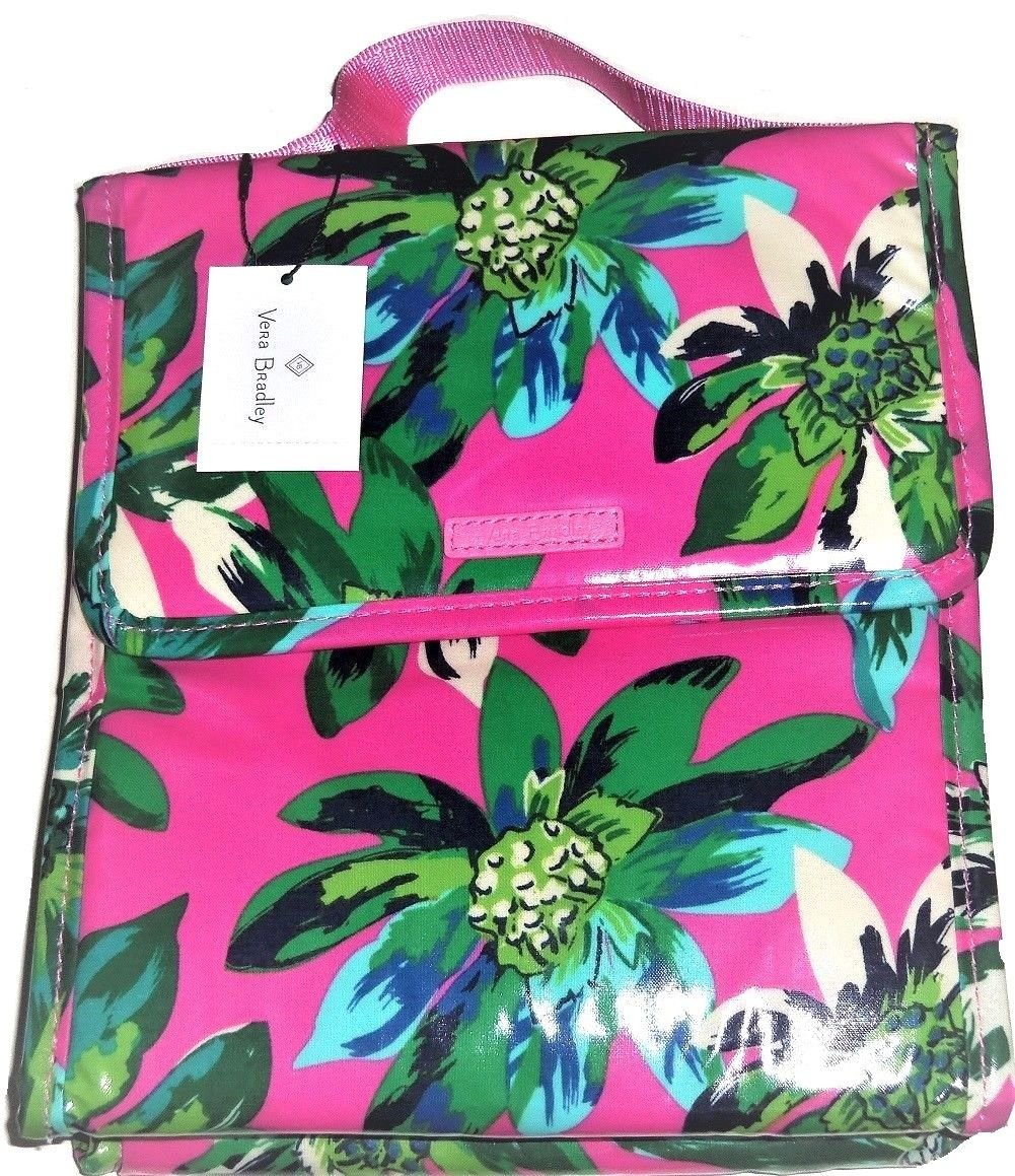 fee84b21d6 Vera Bradley Lunch Sack Laminated Tropical Paradise
