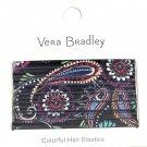 Vera Bradley Hair Elastics Bandana Swirl New