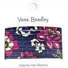 Vera Bradley Hair Elastics African Violet New