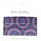 Vera Bradley Hair Elastics Ellie Medallions New