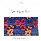 Vera Bradley Hair Elastics Floral Fiesta New