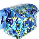 Vera Bradley Stay Cooler Lunch Bag Laminated Blueberry Blooms