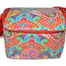 Vera Bradley Stay Cooler Lunch Bag Laminated Paisley in Paradise