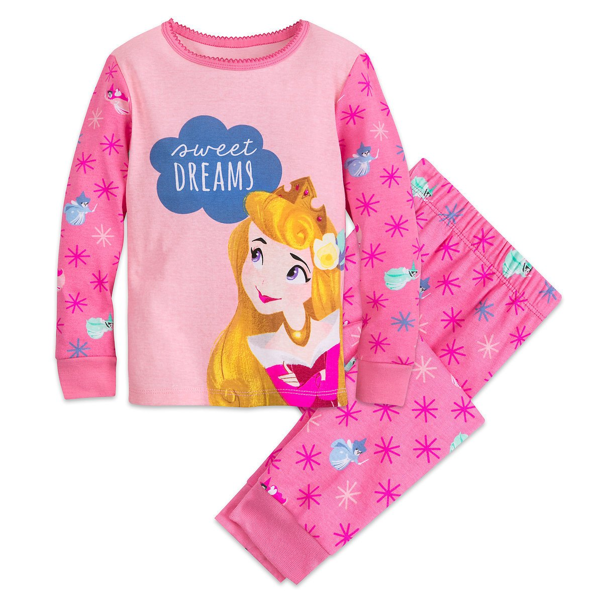 Disney Store Sleeping Beauty PJ PALS Set for Girls Princess  2018 Size 5 sold AZ 2020