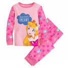 Disney Store Sleeping Beauty PJ PALS Set for Girls Princess Aurora New 2018 Size 6