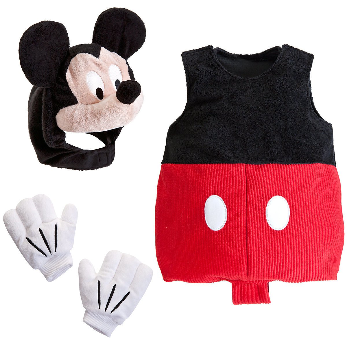 Disney Store Baby Costume Hat Mickey Mouse Size 3-6 Months New