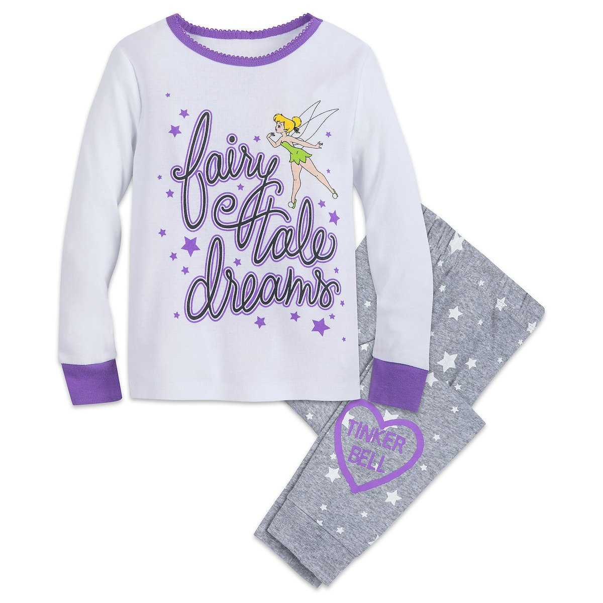 Disney Store Tinker Bell PJ PALS Set for Girls New 2018 Size 5